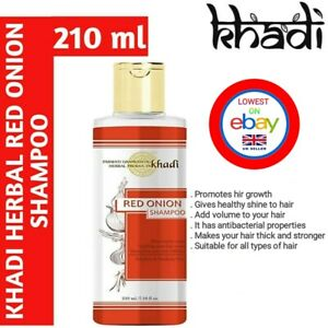 Khadi Red Onion Hair Growth Shampoo 210 ml UK