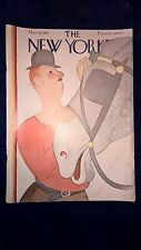 The New Yorker Magazine March 14, 1931 - ORIGINAL HORSE COVER Artist REA IRVIN