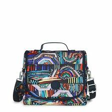 Kipling KICHIROU Insulated Lunch Bag Graffiti Waves - Authentic New with Tags