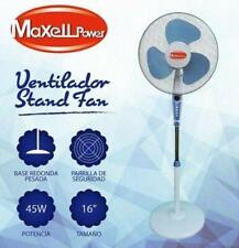 Maxell Power MP-V16 45W Ventilador de Pie - Blanco