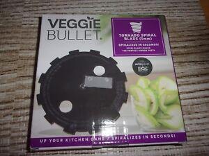 Veggie Bullet Tornado Spiral Blade - Spiralize in Seconds