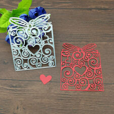 Heart Bow Gift Box Metal Cutting Dies Stencil Scrapbooking Card Embossing Craft