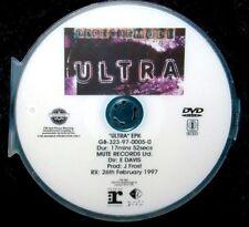 DEPECHE MODE ULTRA Electronic Press Kit Record Company Promo EPK DVD (NOT A CD)