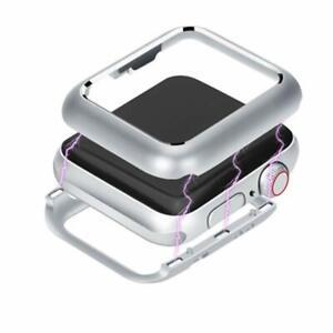 Coque de protection intégrale magnétique Argent pour Apple Watch 38/40/42/44mm