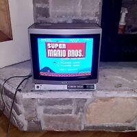 "Sony Trinitron KV-1370R Color 13"" CRT Gaming TV Vintage 1985 Japan Television"