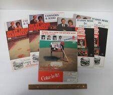 Lot (5) Vintage [1981-1985] St Louis Cardinals Home Game Scorecards MLB yz4231