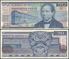 Mexico 50 Pesos, 1981, P-73, UNC, Series-KC
