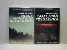 Two (2) Audiobooks - Foggy Mountain Breakdown & Tales From Nightscape