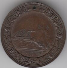 "Medal 1897 Centenary of Newcastle New South Wales Australia ""The Nobbys"" scarce"