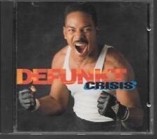 CD ALBUM 10 TITRES--DEFUNKT--CRISIS--1992