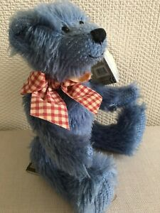 Gund Little Blue Bear - called Henny. Tags attached