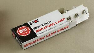 Miniature Lamp 2.2V 0.25A Lens E10 NOS