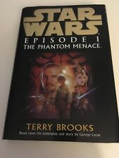 TERRY BROOKS-Star Wars EPISODE 1 PHANTOM MENACE-HB-1ST-CENTURY-1999