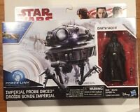 Star Wars THE LAST JEDI DARTH VADER/IMPERIAL PROBE DROID 2-pack Figure Set