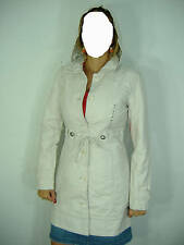New Junior Womens Medium Roxy Rebel Rocker Long Hooded Jacket Hoody $85 Cotton