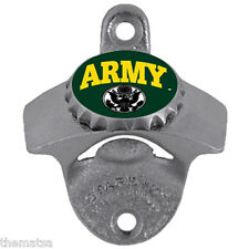 ARMY LOGO WALL MOUNTED USA MADE MILITARY  BOTTLE OPENER