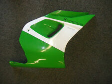 MZ Skorpion Sport Cup Right Fairing Side Panel Green / White