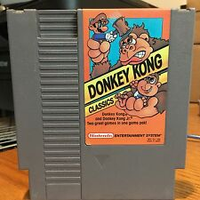 Donkey Kong Classics Nintendo NES Game Cleaned Tested Working