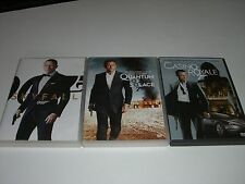 LOT 3 DVD ZONE 2--JAMES BOND--CASINO ROYALE + QUANTUM OF SOLACE + SKYFALL