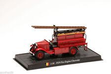 Fire Engine 1927 FIRE ENGINE CHEVROLET 1:50 Delprado Diecast - Feuerwehr CBO087