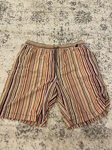 Paul Smith Striped Swimming Shorts Medium