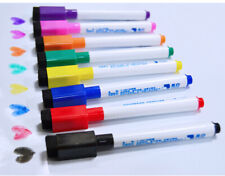 8pen/2box Magnetic Whiteboard Pen,Markers Erasable Drawing and Recording Magnet