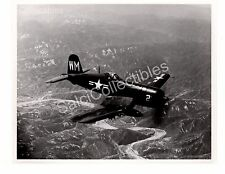 US Navy Aircraft Photograph USS Vought Corsair F4U Official Photo 8x10