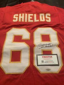 Kansas City Chiefs Will Shields Signed Jersey Tristar COA HOF 15