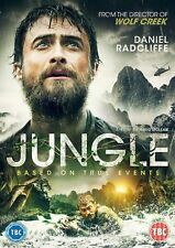 Jungle [DVD] Daniel Radcliffe (Harry Potter) Movie Film True Story Gift Idea NEW