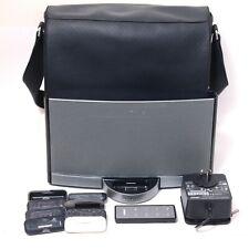 BOSE SoundDock Series II Portable Speaker iPod AUX w/ Battery+Remote+Bag VGC 2