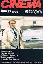 La Revue Du Cinema - N°365 - oct 1981:Rivette Minelli cinema autrichien