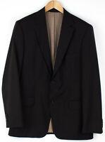 HUGO BOSS Herren Super100 Wolle Formelle Jacke Blazer Größe 52 AGZ856