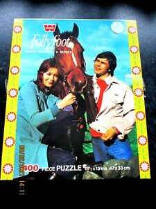 Vintage - Whitman - 400 piece Jigsaw Puzzle - 'Follyfoot' Complete TV Yorkshire