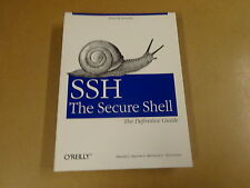 BOOK / O'REILLY - SSH THE SECURE SHELL - THE DEFINITIVE GUIDE