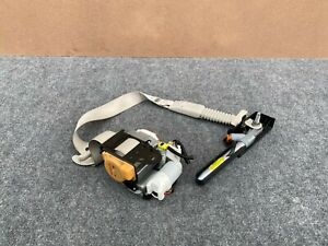 INFINITI Q50 2014-2017 OEM FRONT LEFT DRIVER SEAT BELT WITH ASSIST MOTOR (GRAY)