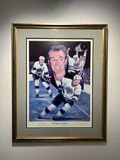 """Wayne Gretzky"" Ltd. Print Signed by Gretzky - Framed"