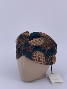 Neu Luxury Original GUCCI Haar Accessoire-628042 Stirnband Headband Turban
