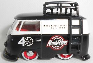 M2 Machines 1960 Volkswagen Delivery Black 2020 Loose