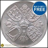 1953 CROWN - Queen Elizabeth Coronation Five Shilling