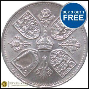 1953 CROWN - Queen Elizabeth Coronation Five Shilling