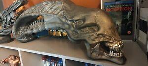 Custom 3d Printed Xenomorph Alien inspired skull Graphite Gray