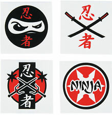 72 Ninja Tattoos Party Favors Martial Arts