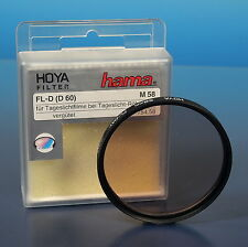 Hoya Hama Ø58m Filter filter filtre FL-Day daylight Tageslicht - (91887)