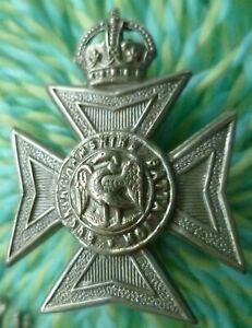 WW1 Buckinghamshire Battalion Cap Badge KC All WM ANTIQUE Org