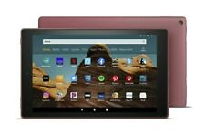 "Amazon Kindle Fire HD 10 Tablet (10.1"", 32GB) Plum 2019 Latest Edition"