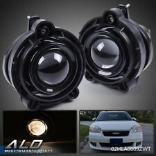 10335108 Gm2593157 Clear Fog Lights Driving Lamps For Chevy Buick Saturn Pair
