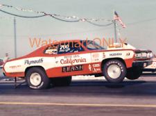 "Butch ""California Flash"" Leal 1970 Plymouth Duster ""MOPAR"" Pro Stocker PHOTO!"