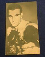BOXING EXHIBIT CARD - ANTON CHRISTOFORIDAS GREECE 1935 1947 (MM90 )