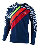 Troy Lee Designs 2020 Sprint Jersey SECA 2.0 - Navy / Red MTB Bicycle