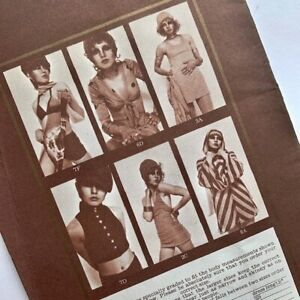 70s vintage  BIBA mail order summer fashion catalogue